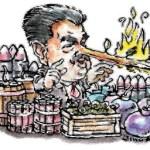 MARTA COLOMINA,  Maduro, mas gasolina al fuego