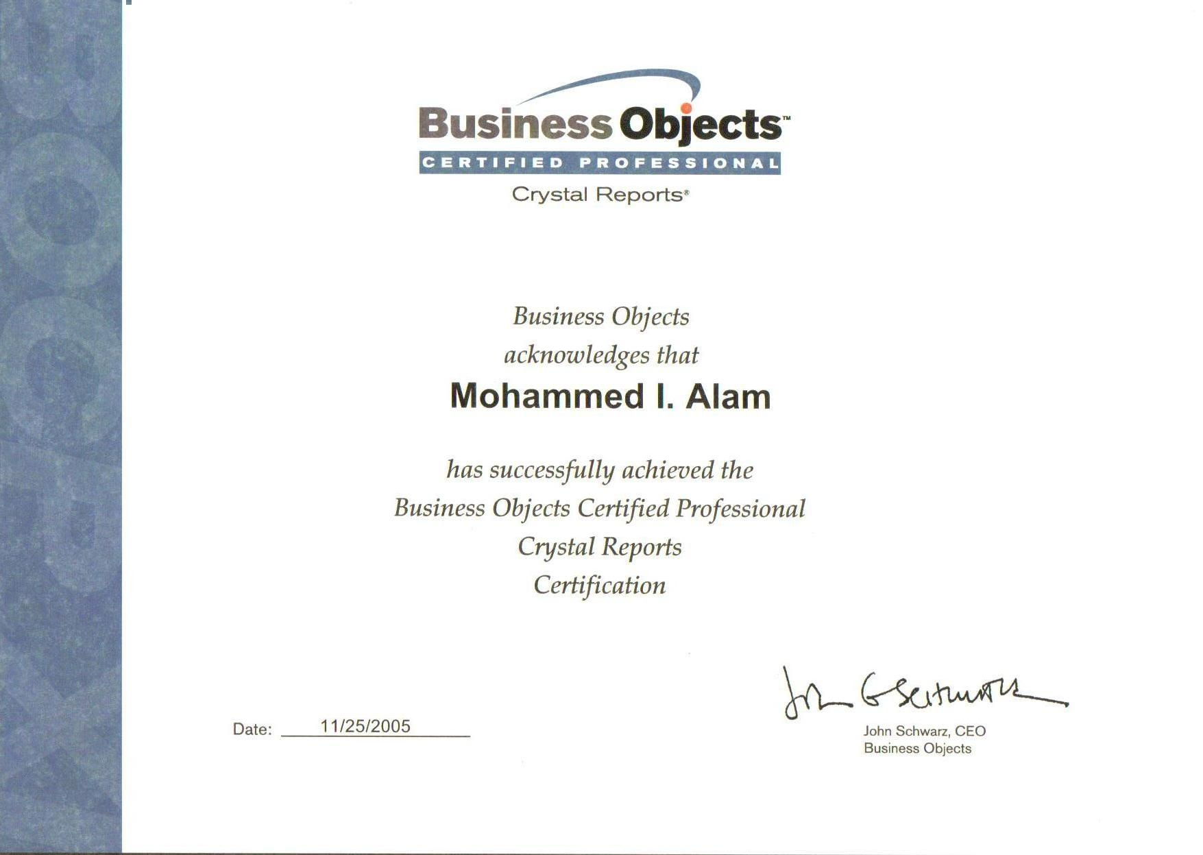 cv consultant business objects sample reference letter for cv consultant business objects
