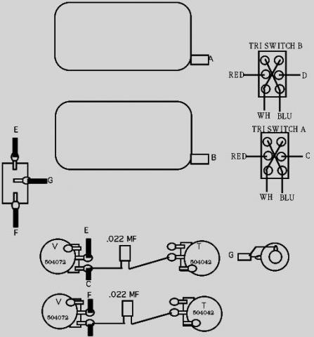 hsh strat wiring diagram schematic