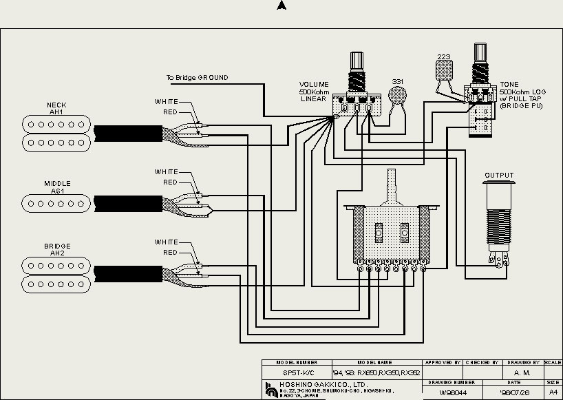 ibanez rt650 wiring diagram