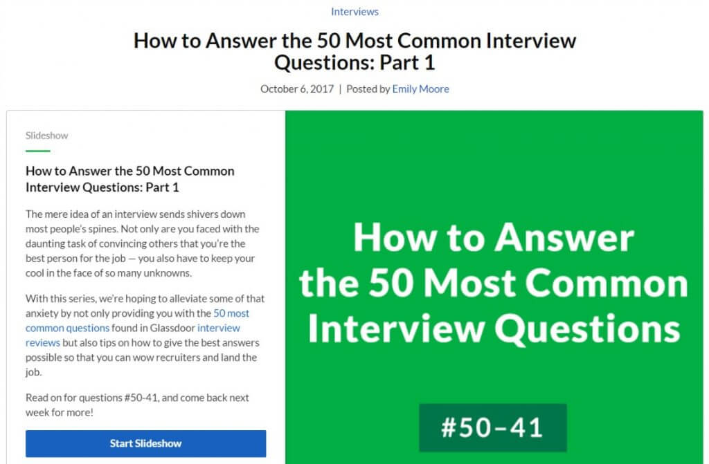 How to Answer the 50 Most Common Interview Questions ⋆ Repurpose