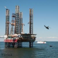 ROUSOFEX 15: Interventie cu Forte Speciale la platforma petroliera Gloria