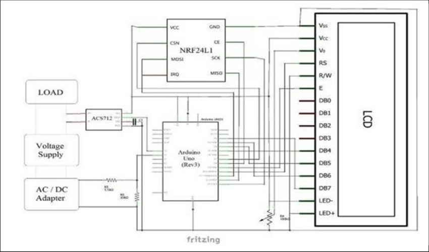 relay schematic diagram explain