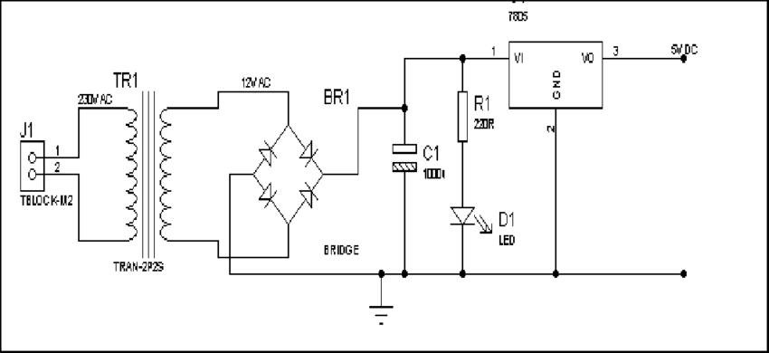infrared sensor module circuit diagram