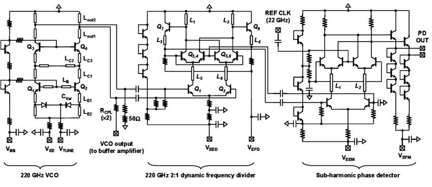 single chip divider schematic diagram