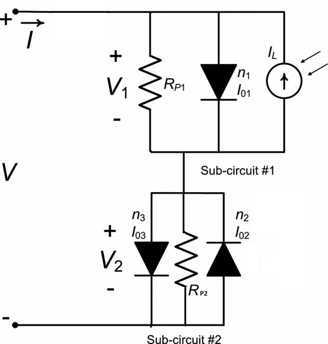 solar cell parallel circuits