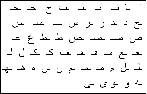 pixel letter diagram