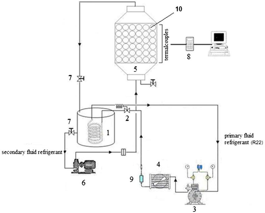 horizontal ac unit diagram