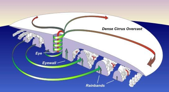 17a Hurricane Structure Cross Section Download Scientific Diagram