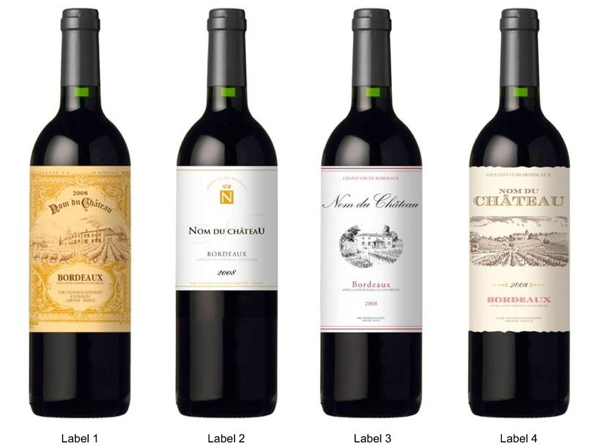 What does your wine label mean to consumers? Franck Celhay
