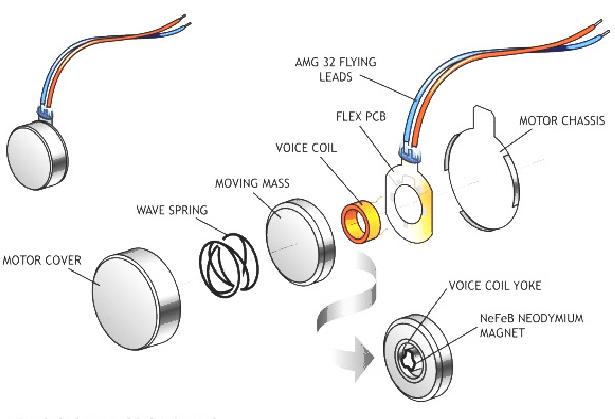 voice coil actuator diagram