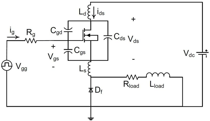 figure 3 mosfet switching circuit