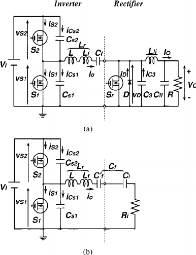 the resonant dc dc converter with the class de inverter
