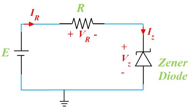 20 A simple electrical circuit, the schematic and i − v