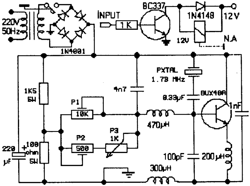 air ultrasonic humidifier circuit auto electrical wiring diagramcircuit of the ultrasonic nebulizer