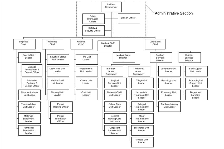 ics structure diagram