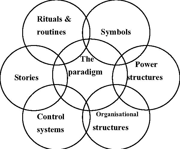 cultural web diagram