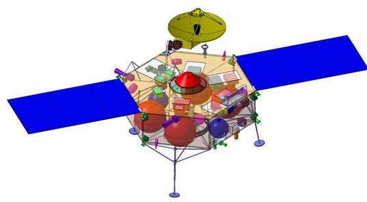 Marco Polo spacecraft design Download Scientific Diagram