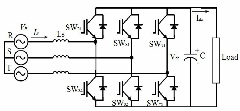 phase bridge rectifier circuit diagram