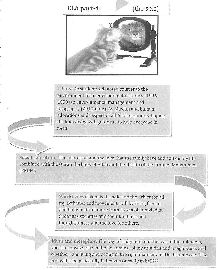 Two contrasting student self-assessments using CLA(previous page - student self assessment