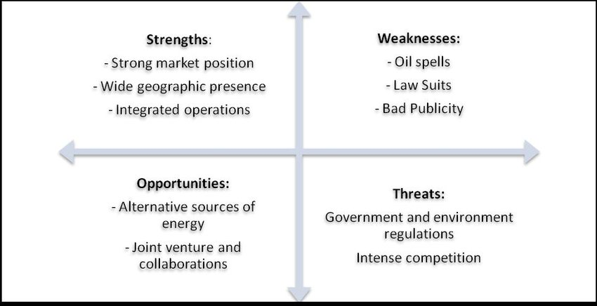 SWOT analyses (Strategy, Business Information and Analysis 2009