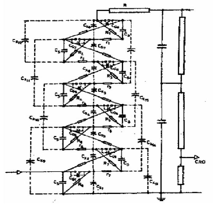marx impulse generator circuit
