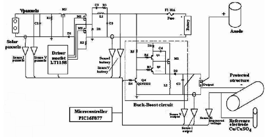 5v to 25v voltage regulator circuit it shows 5v to 25v regulator