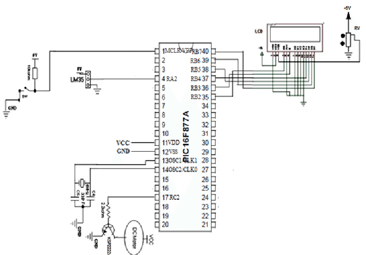automatic fan controller circuit diagram