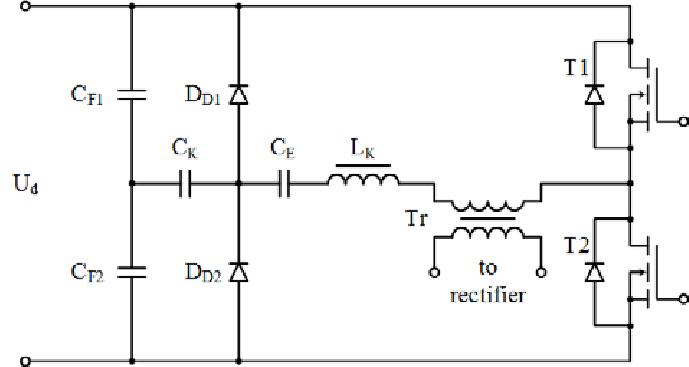 capacitor balancing circuit