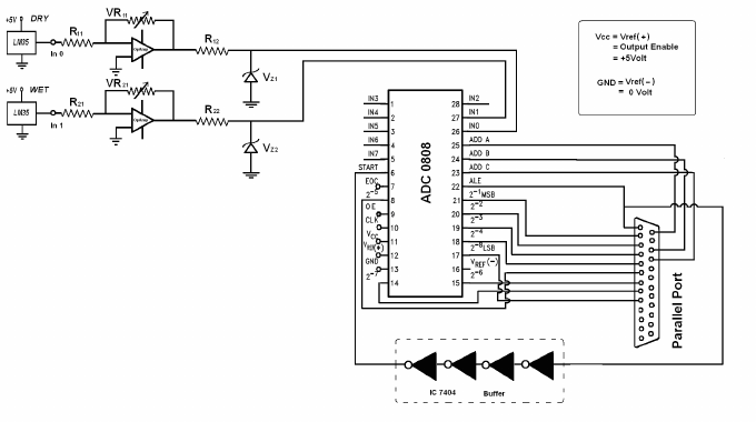 adc circuit diagram
