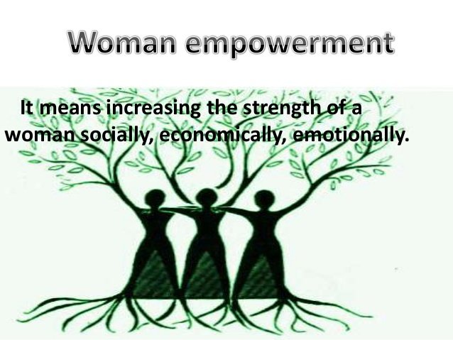 What is the meaning of Women Empowerment?