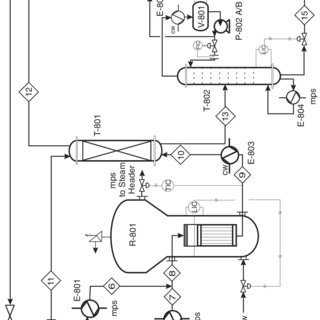 process flow diagram r