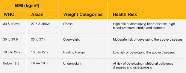 How best we can describe Body Mass Index (BMI)?