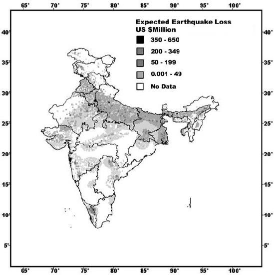 earthquake results diagram
