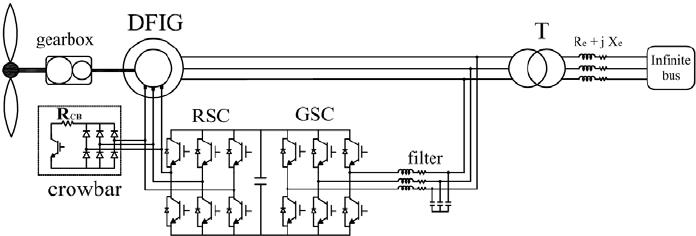 a typical crowbar circuit diagram