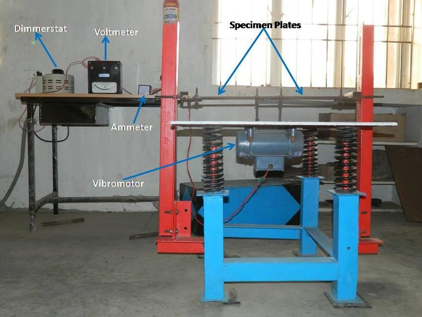 Vibratory welding equipment setup Download Scientific Diagram