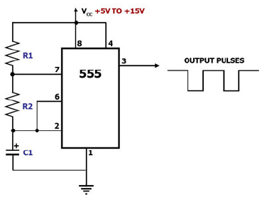 circuit also electronic timer circuit on 555 timer schematic