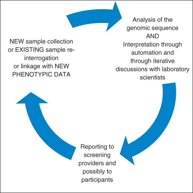 The iterative process of sample and data collection and analysis - Sample Analysis