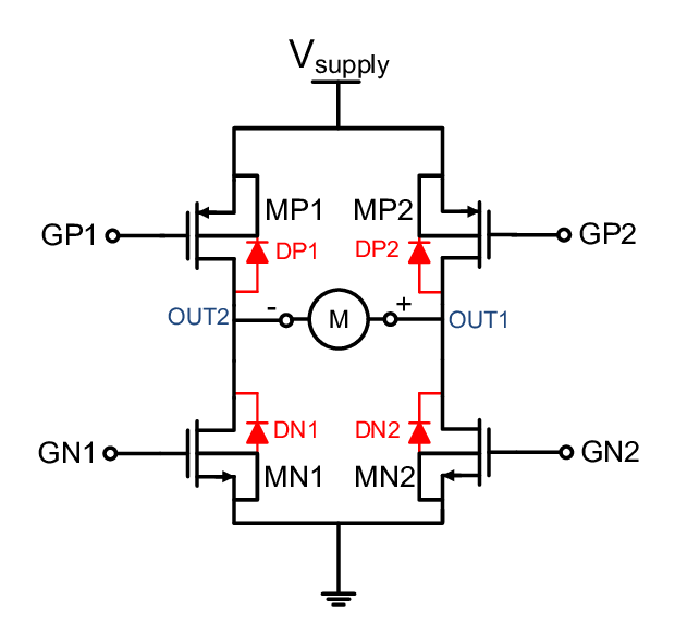 figure 2 h bridge circuit