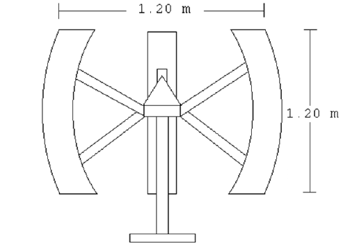 wind turbine schematic diagram
