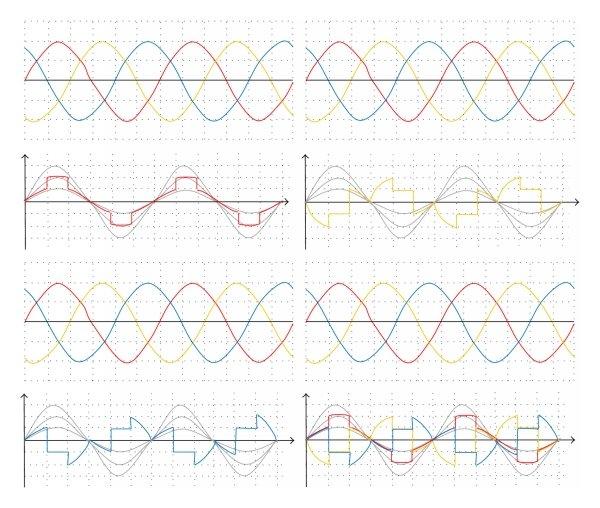 three phase auto changer circuit