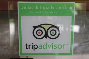 TripAdvisor sign in Bali, Indonesia