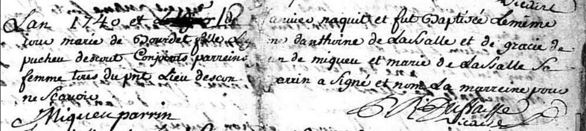 52 Ancestors Week 16:  Marie Lassalle's Long Life