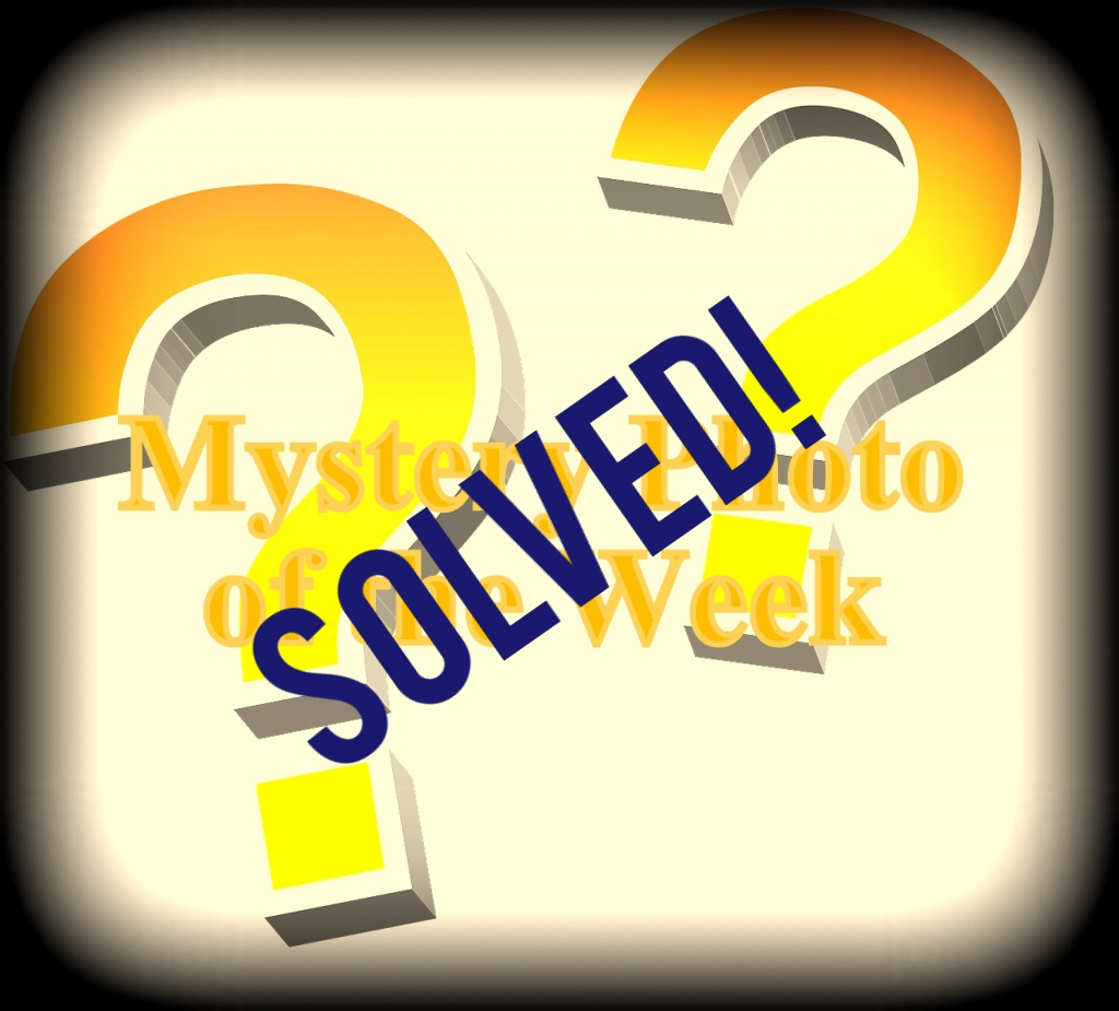 Mystery Photo of the Week from September Solved!