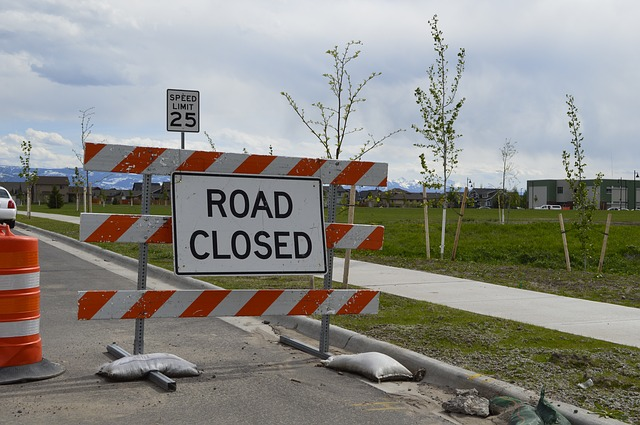 Road block on internet access