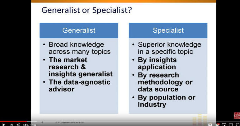 Market Research  Insights Career Coaching Have You Chosen Your