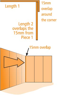 How to wallpaper - measuring, cutting and hanging, estimating | DIY info