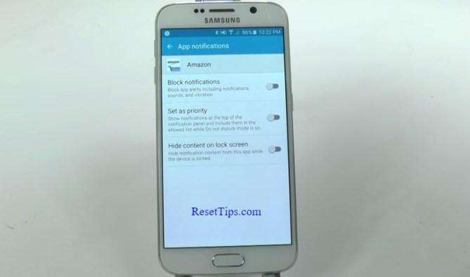 hard reset Galaxy S6 - hidden feature-18