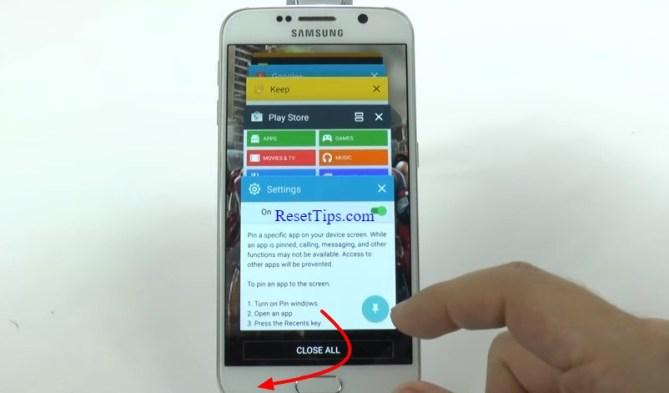 hard reset Galaxy S6 - hidden feature-28
