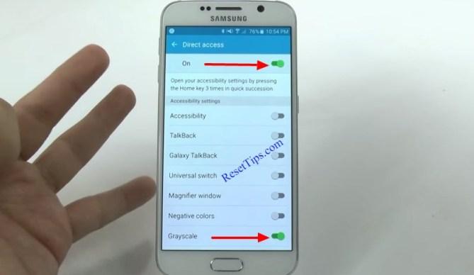 hard reset Galaxy S6 - hidden feature - Tips 7